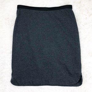 Gap dark grey knit skirt size XS